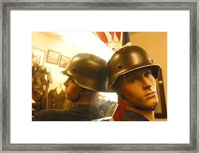 War On Reflective Sucks Framed Print by Jez C Self