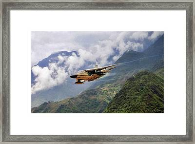 War Pig Framed Print by Peter Chilelli