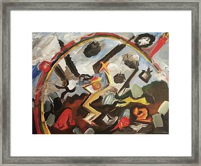 War Framed Print by Suzanne  Marie Leclair