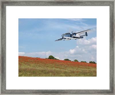 Warbird Returns Framed Print