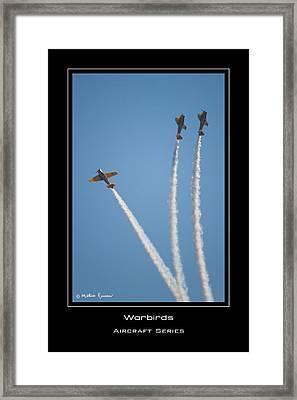Warbirds Framed Print by Mathias Rousseau