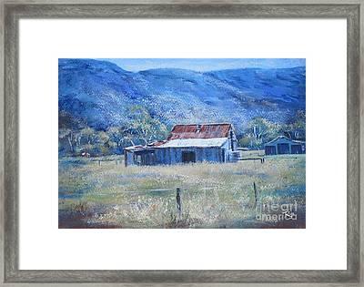 Warby Hut Framed Print