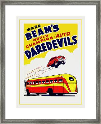 Ward Beams Daredevils Framed Print