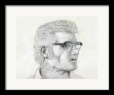 Workaholics Portraits Drawings Framed Prints