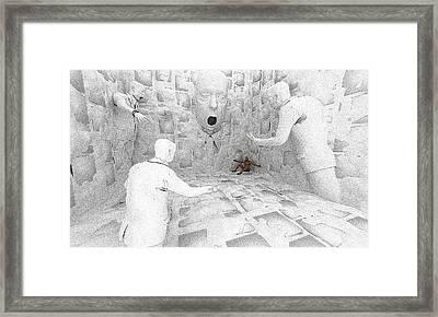 Ward Round Framed Print