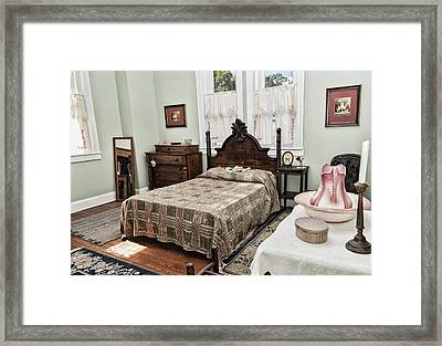 Wardens Bedroom Framed Print