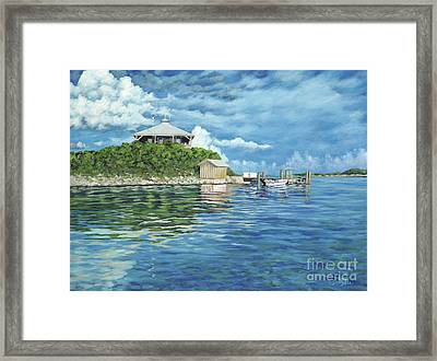 Warderick Wells Framed Print by Danielle  Perry