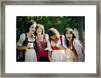 Wardrobe Malfunction Framed Print