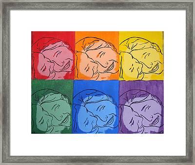 Warhol Inspired Framed Print by Ashley Porter