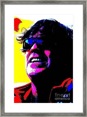 Warhol Robbie Framed Print by Jesse Ciazza