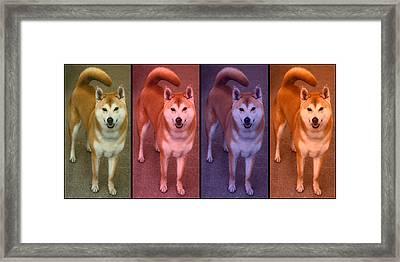 Warhol Yumi Framed Print