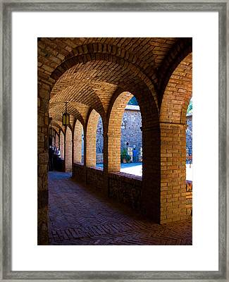 Warm And Cool Framed Print by Sarah Le Feber
