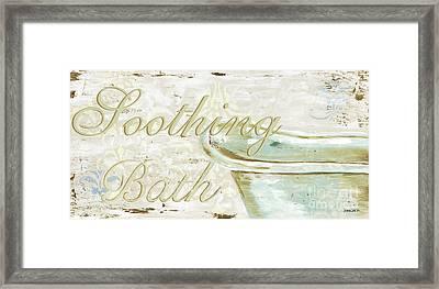 Warm Bath 1 Framed Print