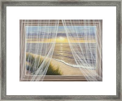 Warm Breeze Framed Print