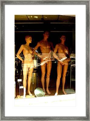 Warm But Still Naked Framed Print by Jez C Self