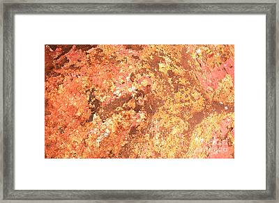 Warm Colors Natural Canvas 2 Framed Print by Carol Groenen