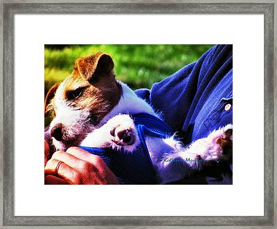 Warm Embrace Framed Print
