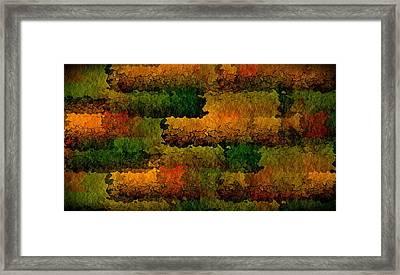 Warm Georgia Clay Framed Print by Terry Mulligan