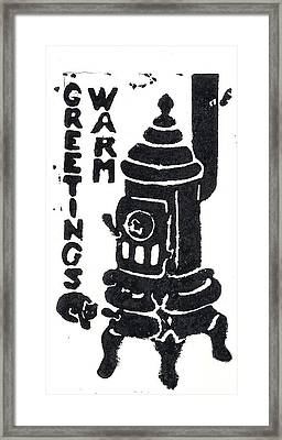 Warm Greetings Framed Print