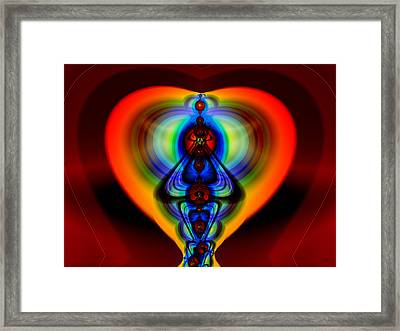 Warm Heart Framed Print