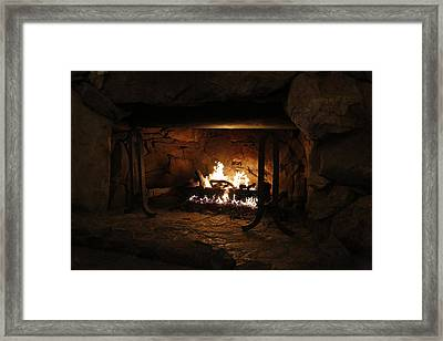 Warm Framed Print by Jeff Roney