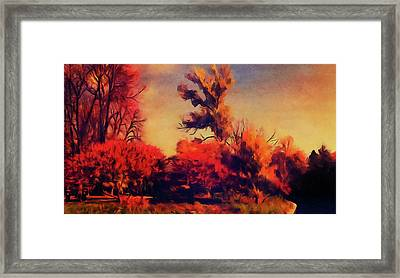 Warm Memories Framed Print by Paul Cristian Panaete