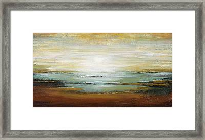 Warm Ocean Framed Print