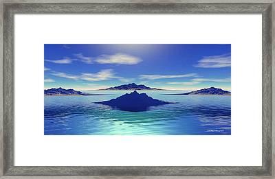 Warm Sandy Beaches Framed Print
