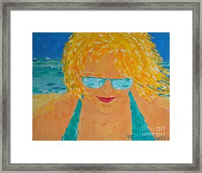 Warm Summer Breeze Framed Print
