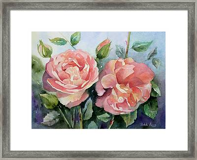 Warm Summer Glow Framed Print by Bobbi Price