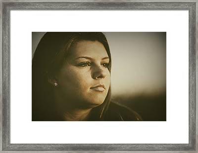 Warm Summer Light Framed Print