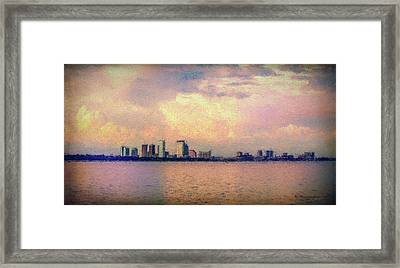 Warm Summer Nights Framed Print by Marvin Spates