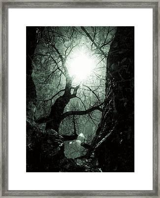 Warm Yet Cold Framed Print