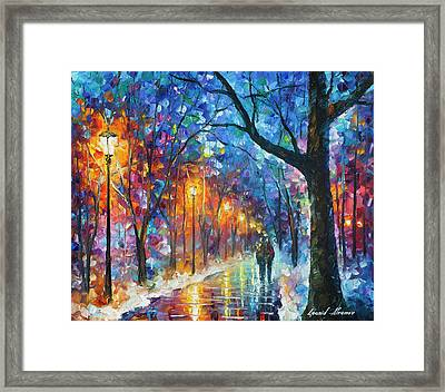 Warmed By Love Framed Print
