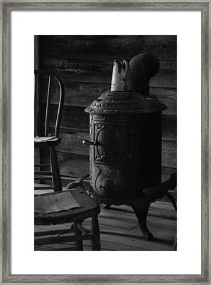 Warming Place Framed Print