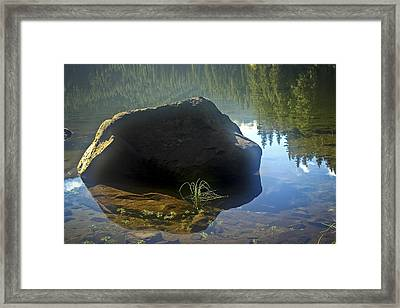 Warming Sun Framed Print
