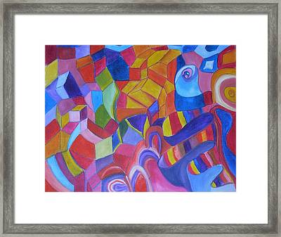 Warms And Colds Framed Print by Joseph  Arico