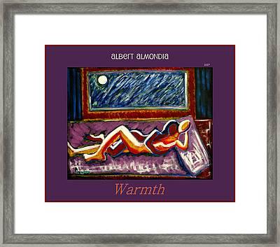Warmth Framed Print by Albert Almondia
