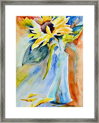 Warmth And Hope Framed Print by Beverley Harper Tinsley