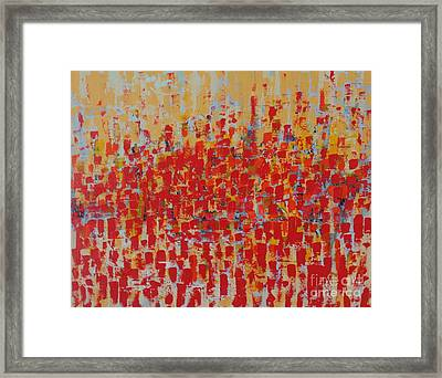 Warmth Framed Print by John Halliday