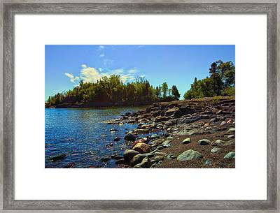 Warmth Of Sugarloaf Cove Framed Print by Bill Tiepelman
