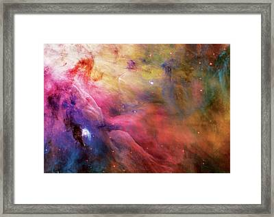 Warmth - Orion Nebula Framed Print