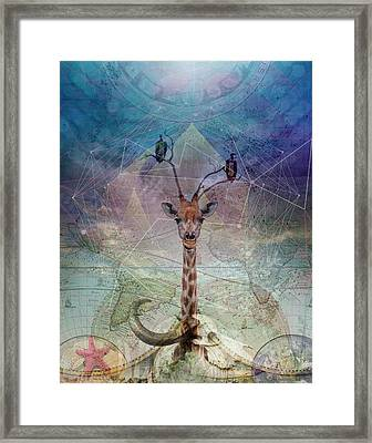 Warning Framed Print