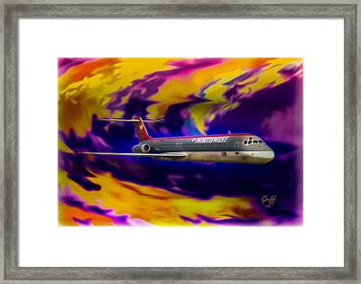 Warp 7 Framed Print by J Griff Griffin