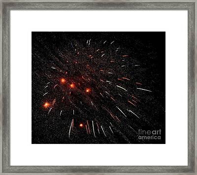 Warp 8 Mr Sulu 5011 Framed Print by Ken DePue