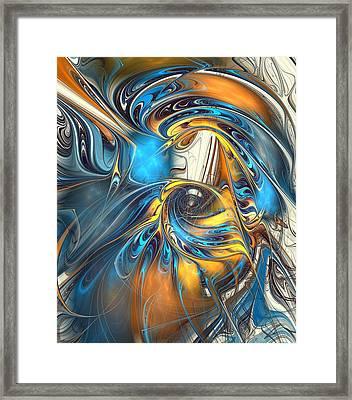 Warp Drive  Framed Print by Anastasiya Malakhova