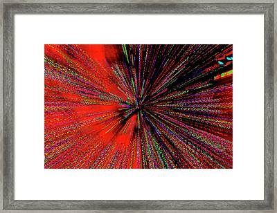 Framed Print featuring the photograph Warp Drive Mr Scott by Tony Beck