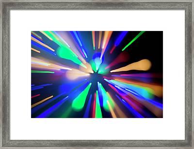 Warp Factor 1 Framed Print