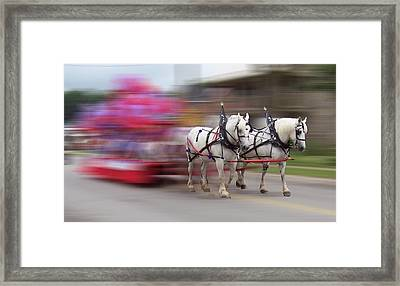 Warp Speed Framed Print by David and Lynn Keller