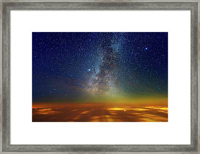 Warp Speed Framed Print